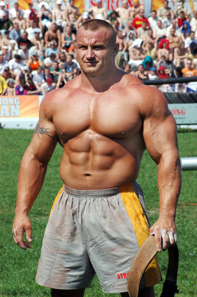 World's Strongest Man Mariusz